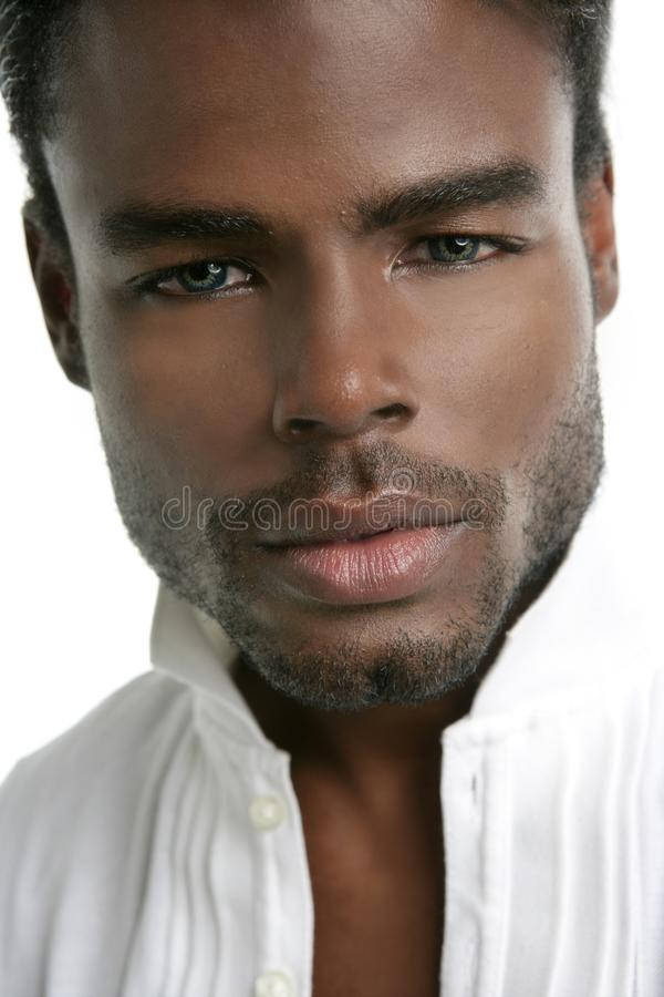 African american young model portrait royalty free stock photo