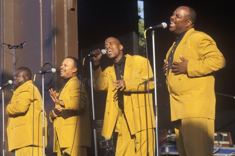 African-Americanevangelium arkivbilder