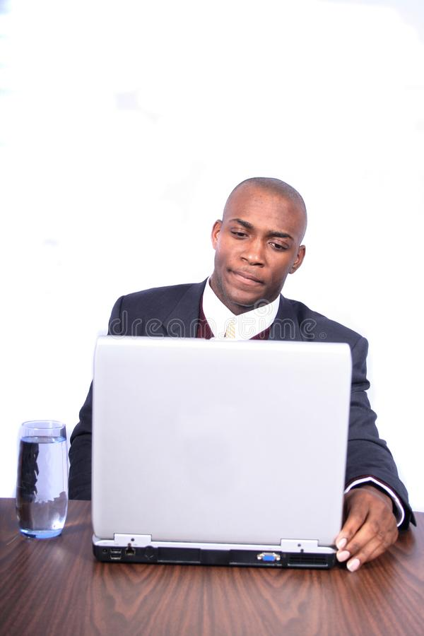 African Amrican Business Man Stock Photos