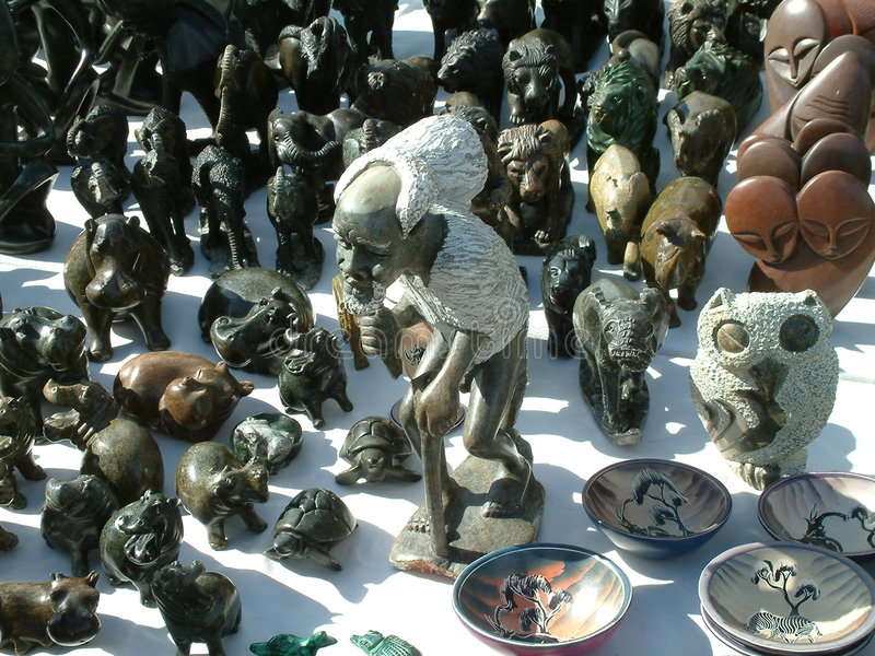 African Art stock photography