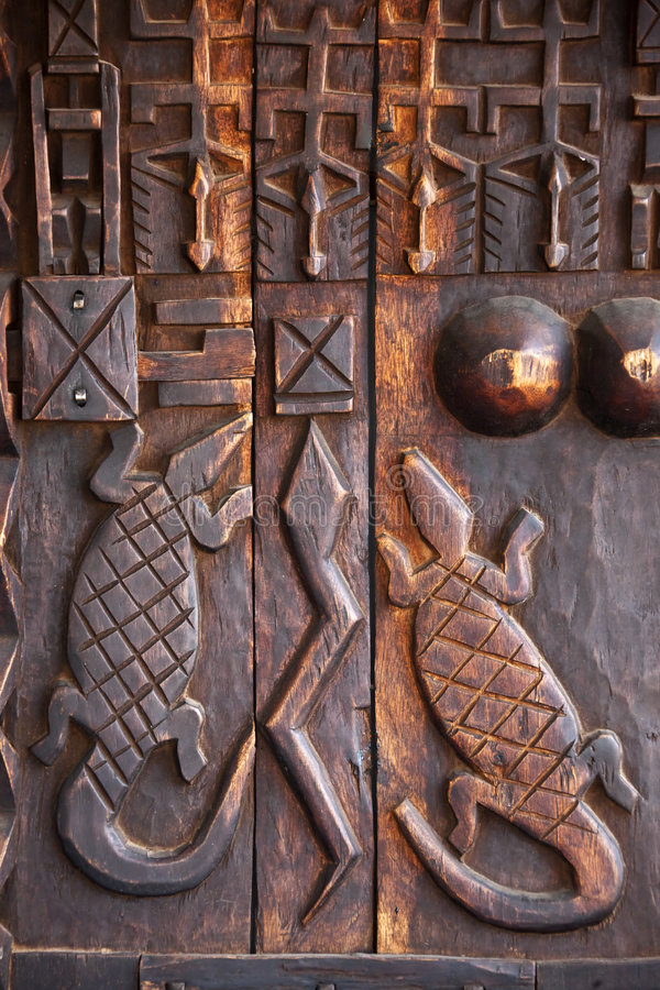 African art wood carving design stock photo image of
