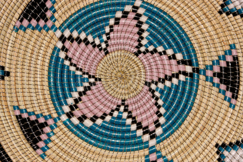 African basket stock images