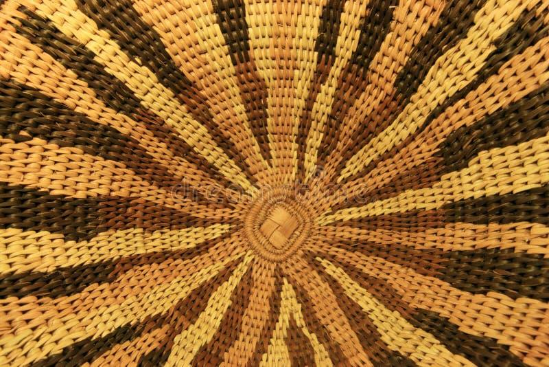 African basket design royalty free stock photos