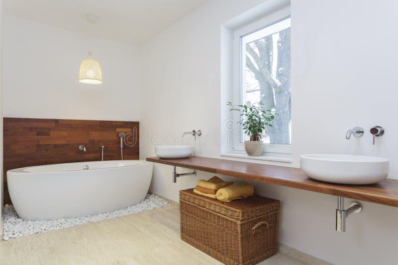 African bathroom royalty free stock photo