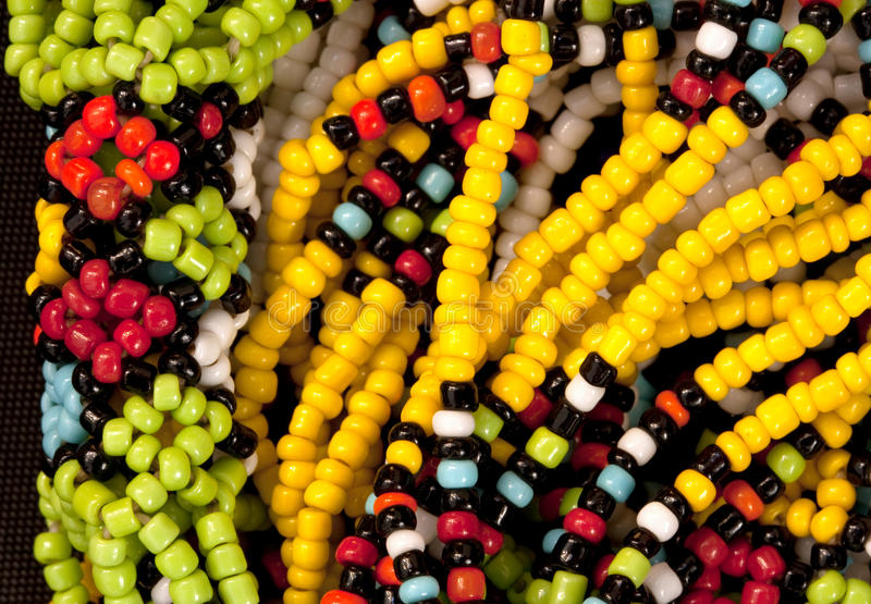 Download African beads stock photo. Image of closeup, accessory - 14819436