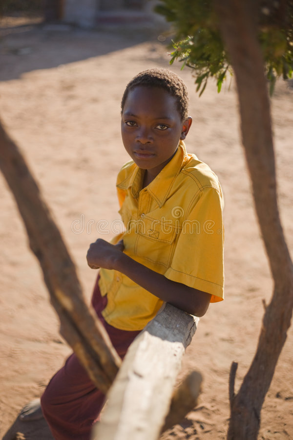 Free African Boy Royalty Free Stock Photography - 6549257