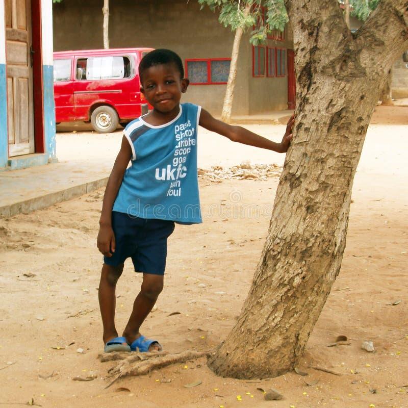 African boy - Ghana royalty free stock photography