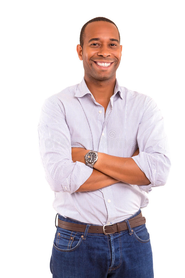 Free African Business Man Royalty Free Stock Photography - 34690337