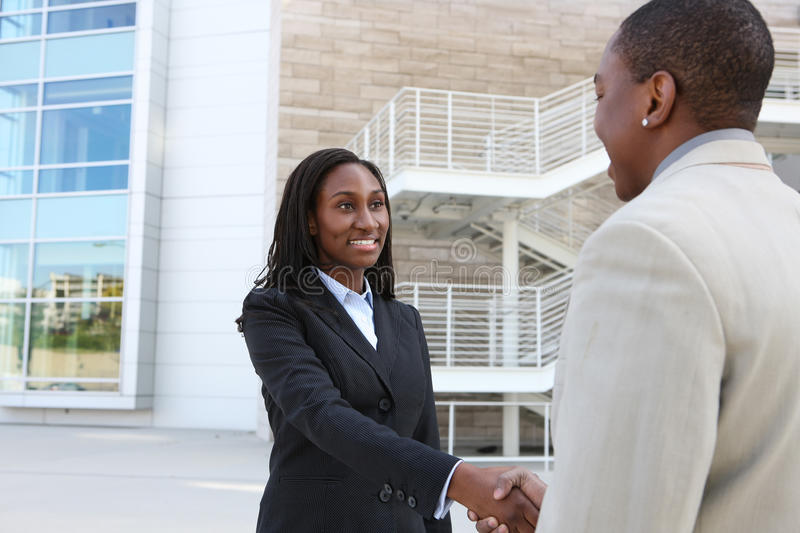 Download African Business Team Handshake Royalty Free Stock Photo - Image: 14602715