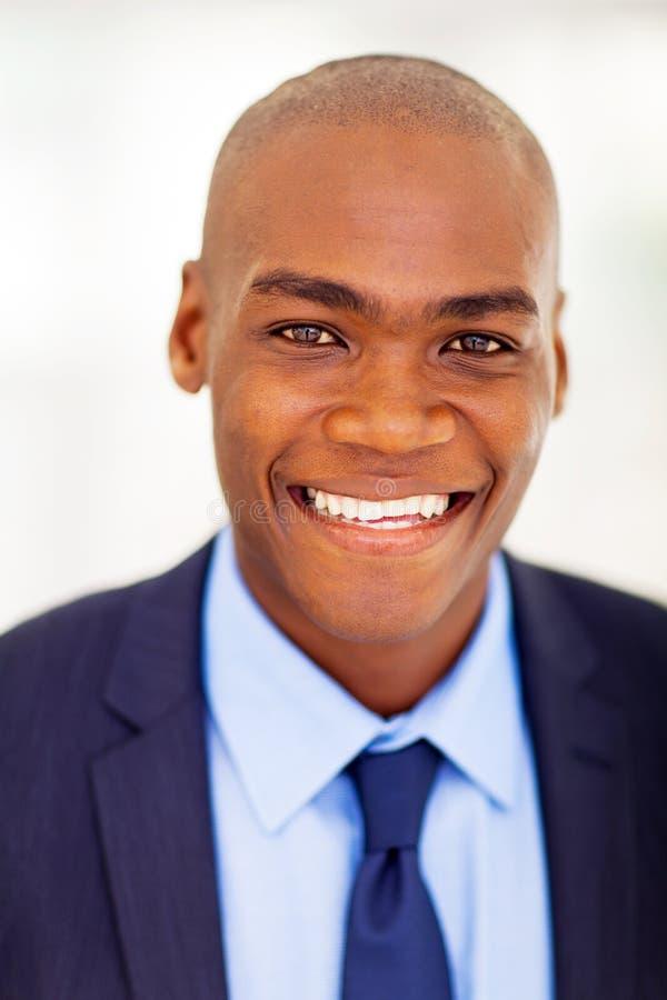 African businessman headshot royalty free stock photography