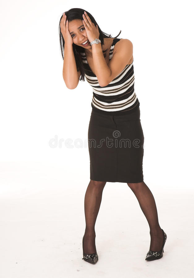 Download African businesswoman stock image. Image of lady, dress - 22475081