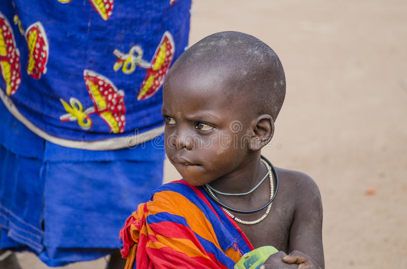 Download African child editorial photo. Image of clothing, decoration - 24600421