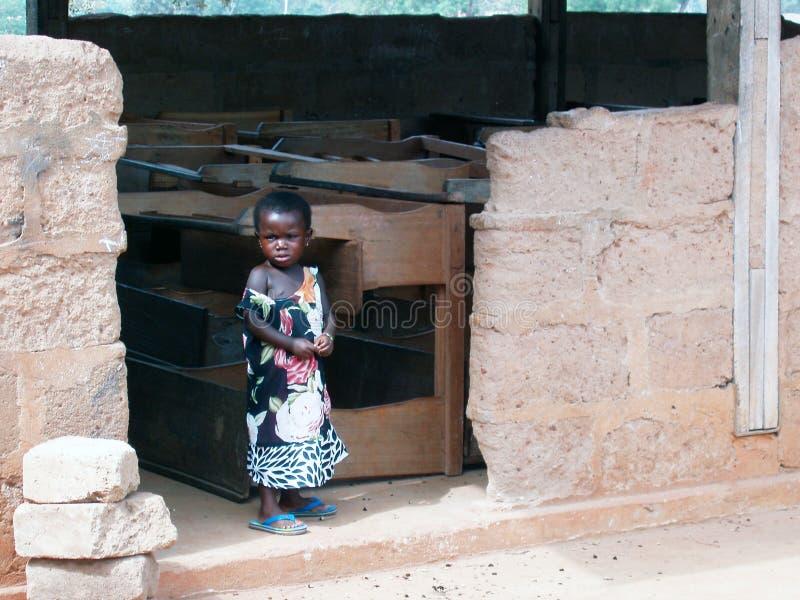African child - Ghana royalty free stock photos