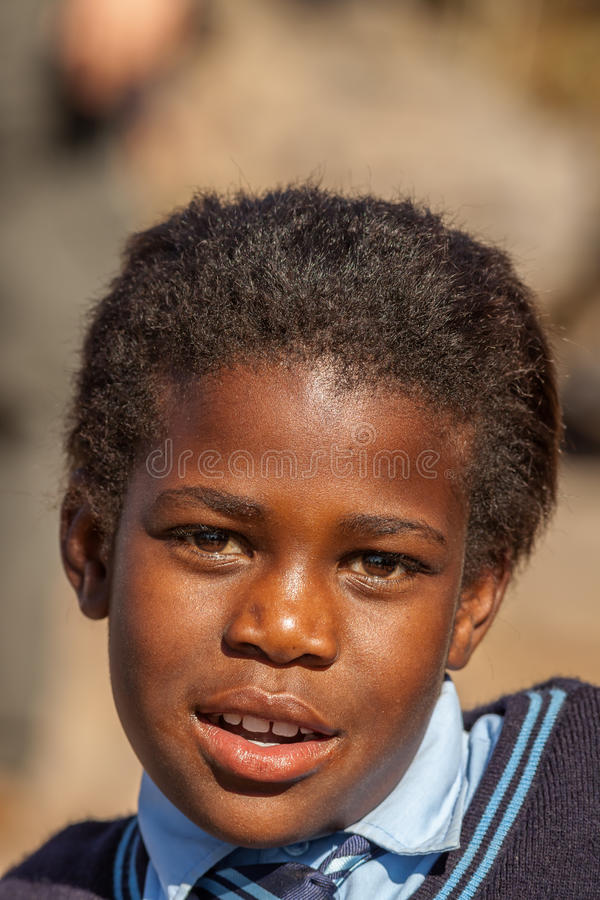 African little child royalty free stock images