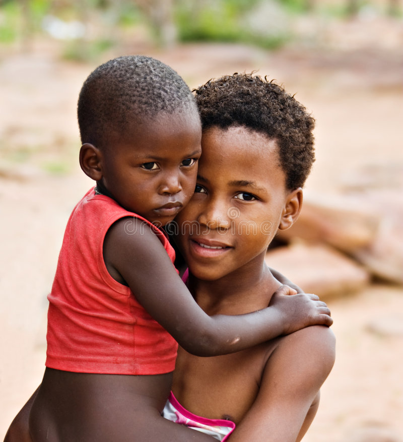 African children stock photography