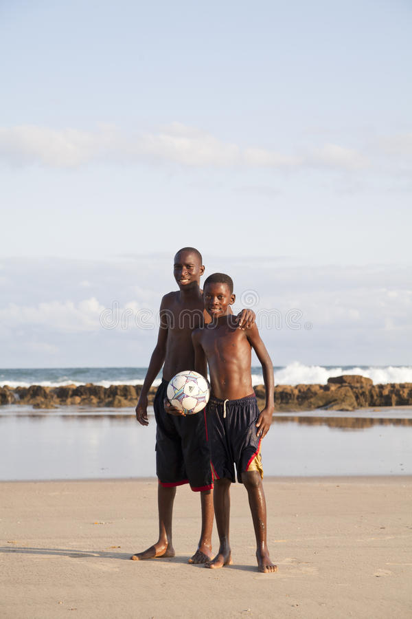 Download African Children Holding A Soccer Ball Editorial Photo - Image: 25288341