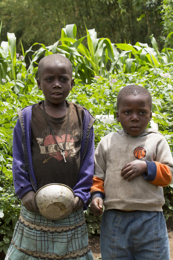 African children in Rwanda stock photos