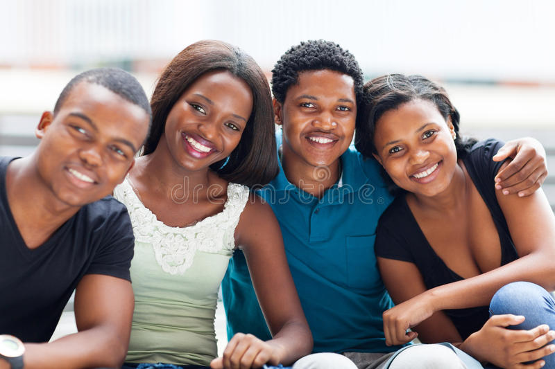 Download African college friends stock photo. Image of american - 29039604