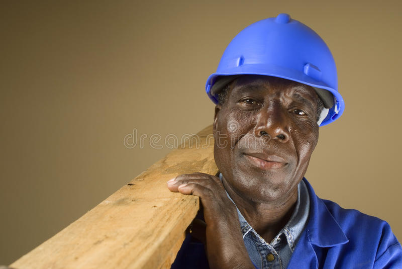 Download African Construction Worker Stock Photo - Image: 11144954