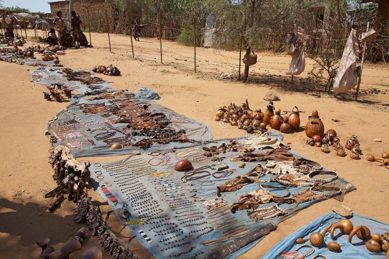 African Craftsmanship Editorial Stock Photo