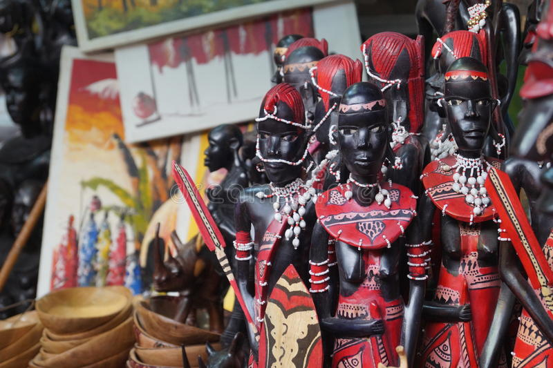 African Creative Artifacts stock photo