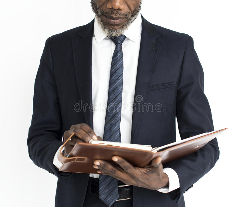 African descent hold a book royalty free stock photos