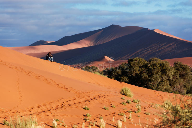 African Desert Adventure Stock Photography