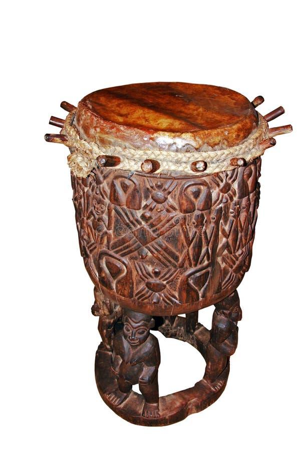 african drum 免版税库存图片
