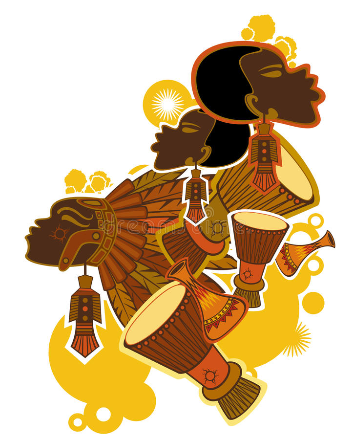 Download African Drummer Royalty Free Stock Image - Image: 9741146