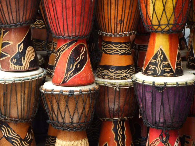 Download African Drums Stock Image Of Crafts Culture Ethnic