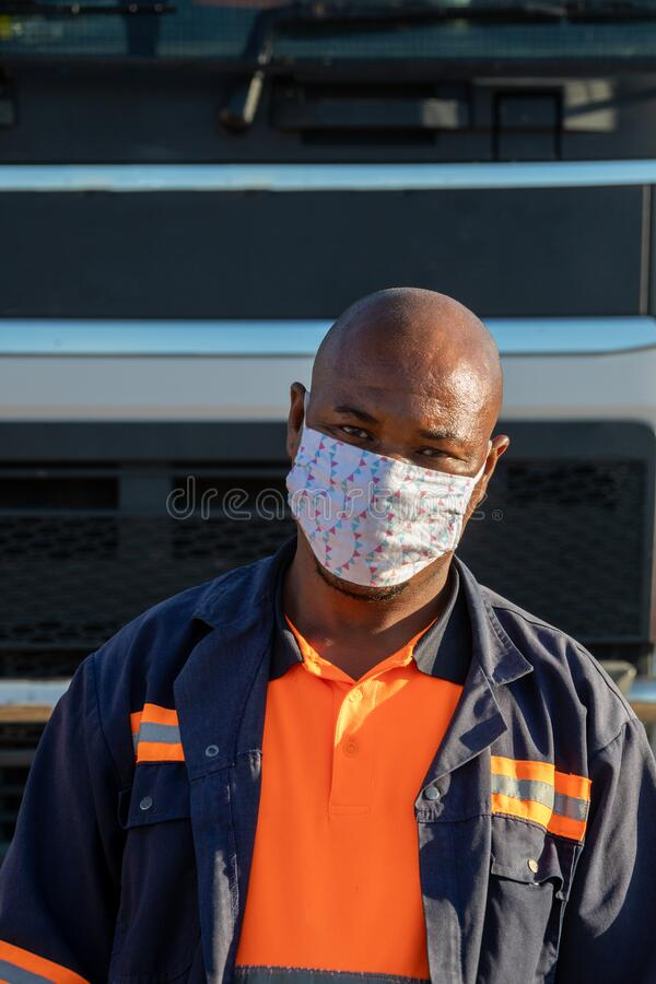 Free African Essential Workers Royalty Free Stock Photography - 183049167
