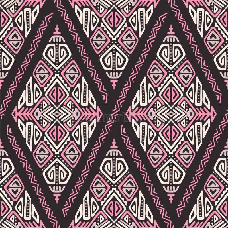 African Ethnic Style Vector Seamless Pattern vector illustration