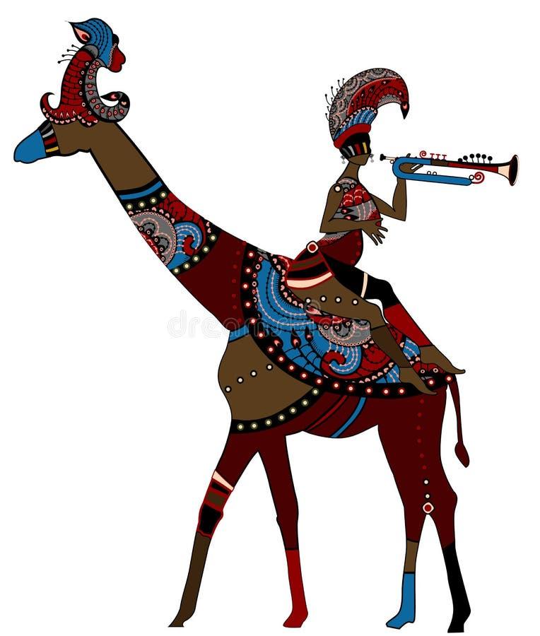 Download African ethnics stock vector. Image of decoration, dexterity - 18397970