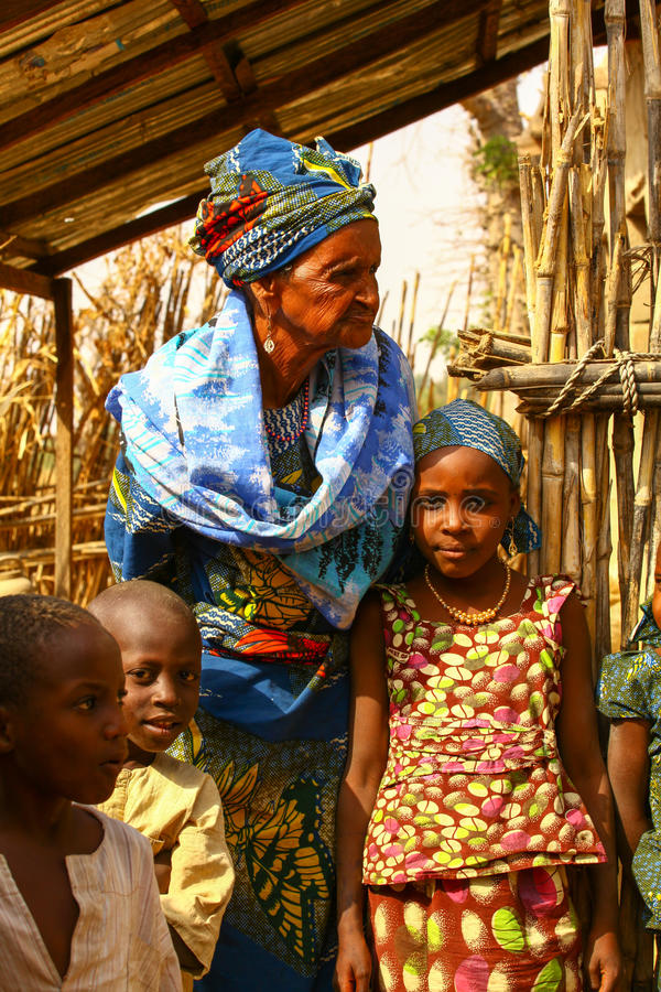 Download African Family editorial image. Image of savanna, grandma - 34127960