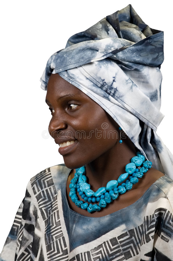 African fashion royalty free stock images