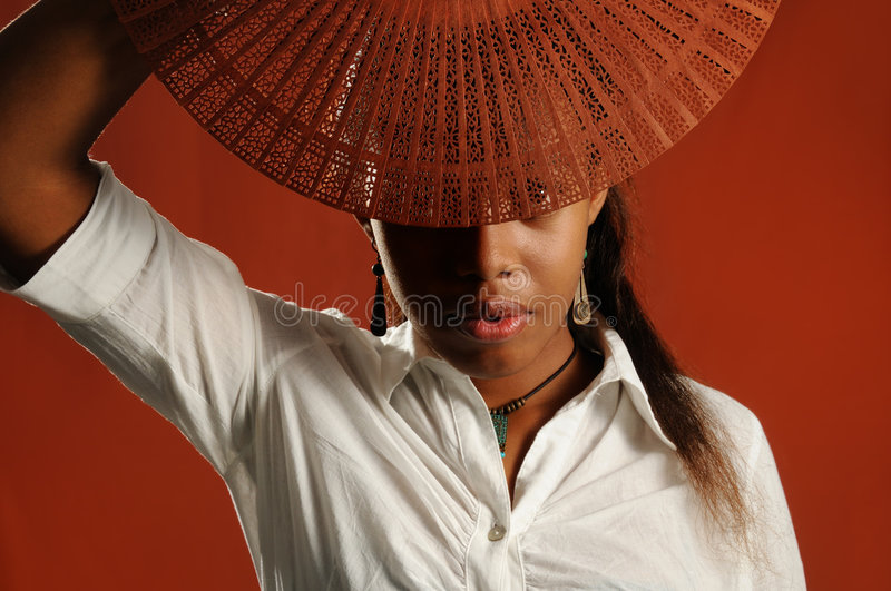 African fashion woman royalty free stock images