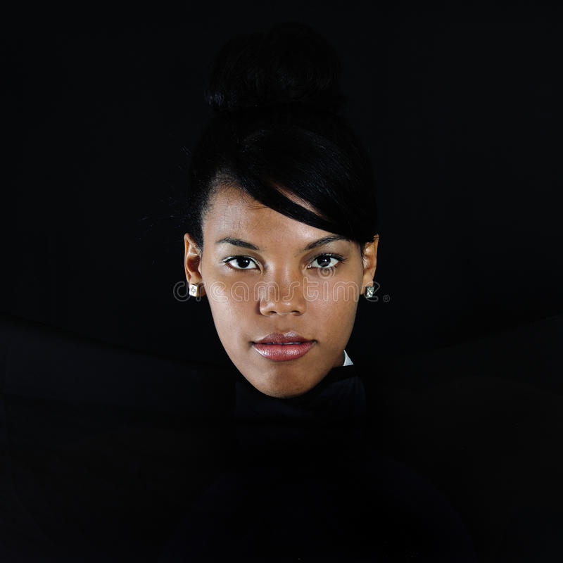 African female portrait royalty free stock photography