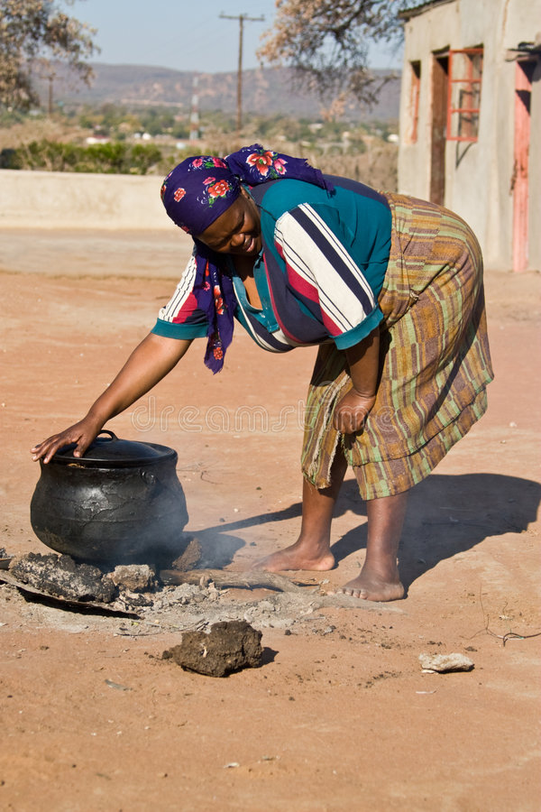 African Food stock image