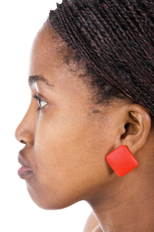 african girl portrait στοκ φωτογραφίες
