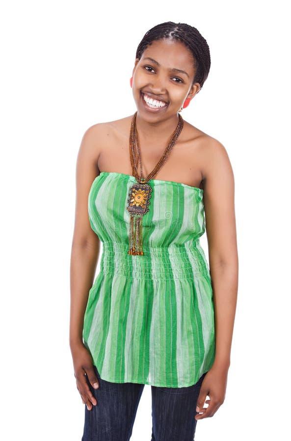 african girl portrait στοκ εικόνα