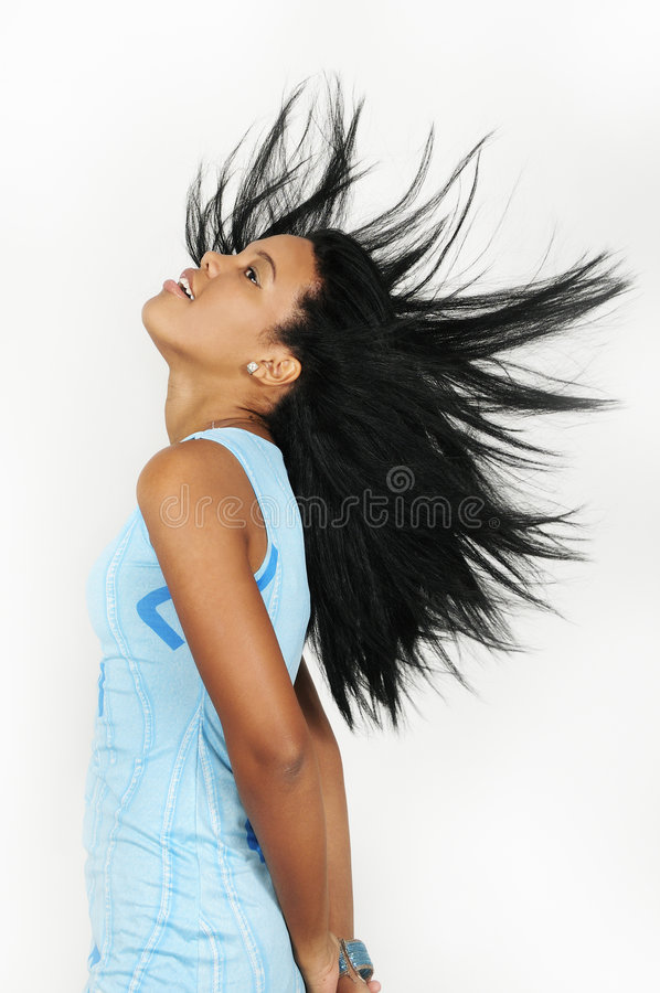 African hair fashion stock photography