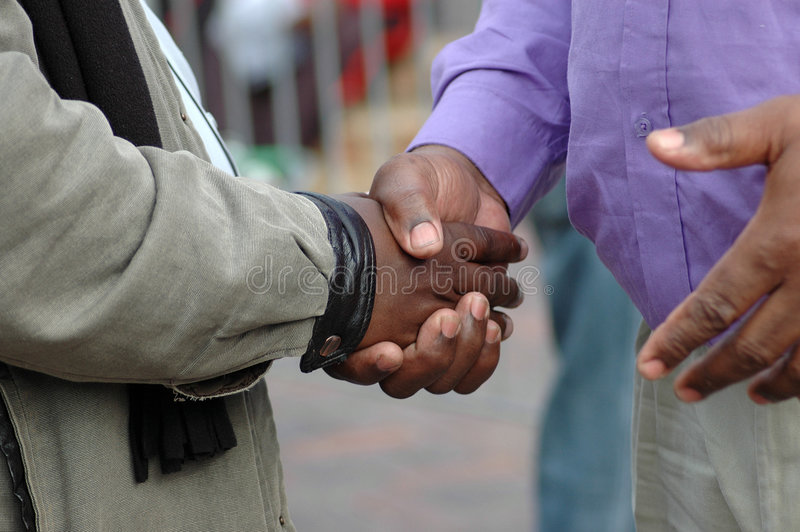 Download African hands shaking stock photo. Image of friend, condolence - 2525690