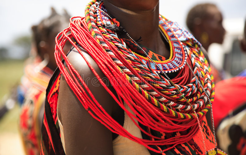 Download African jewellery stock image. Image of bright, profile - 2110195