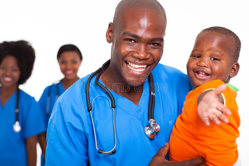 Pediatric Doctor Baby Royalty Free Stock Photography