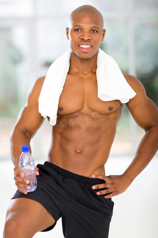Download African man gym stock image. Image of length, american - 40600483