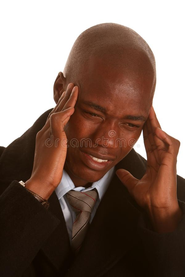 Download African Man Headache Stock Images - Image: 11909824