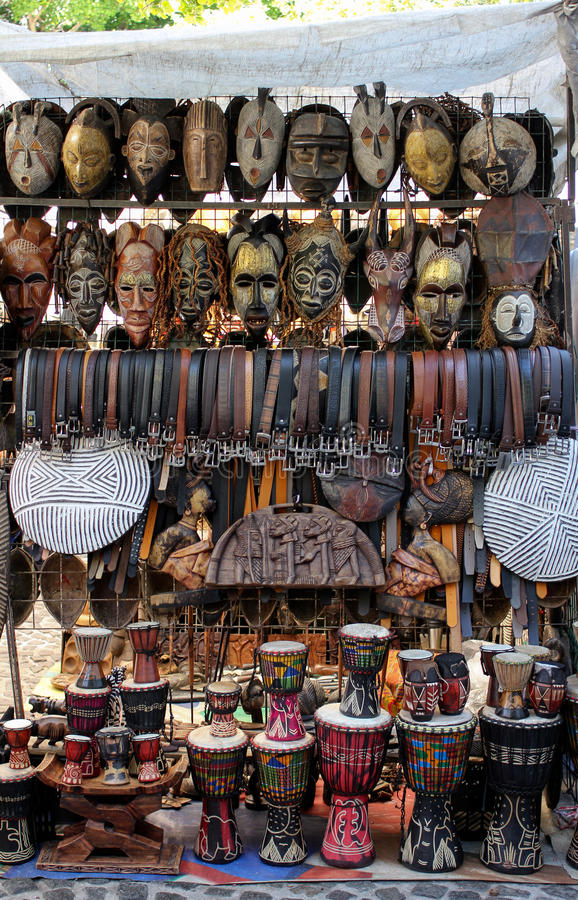 Download African Market stock photo. Image of belts, culture, drum - 26663068