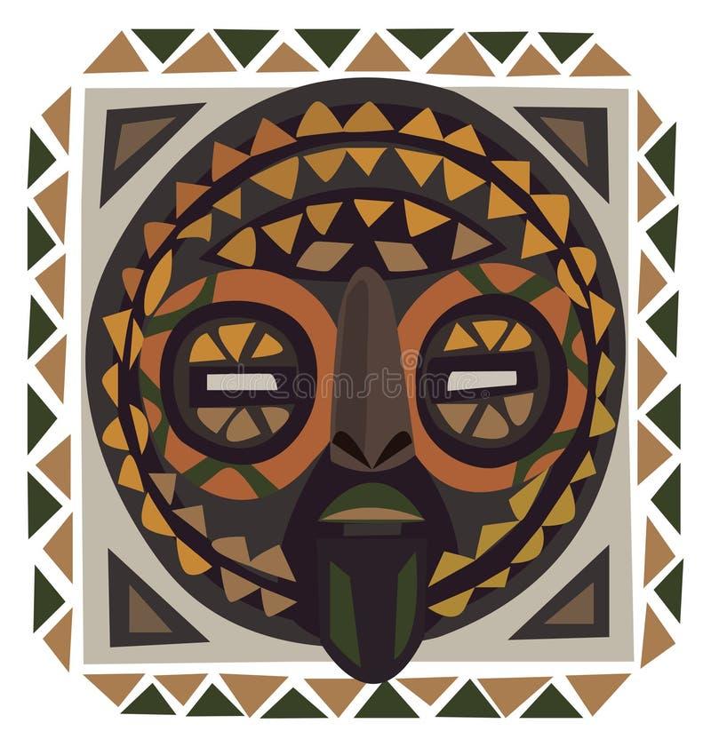 African Mask royalty free illustration