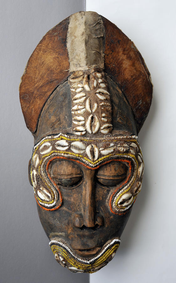 African mask royalty free stock image