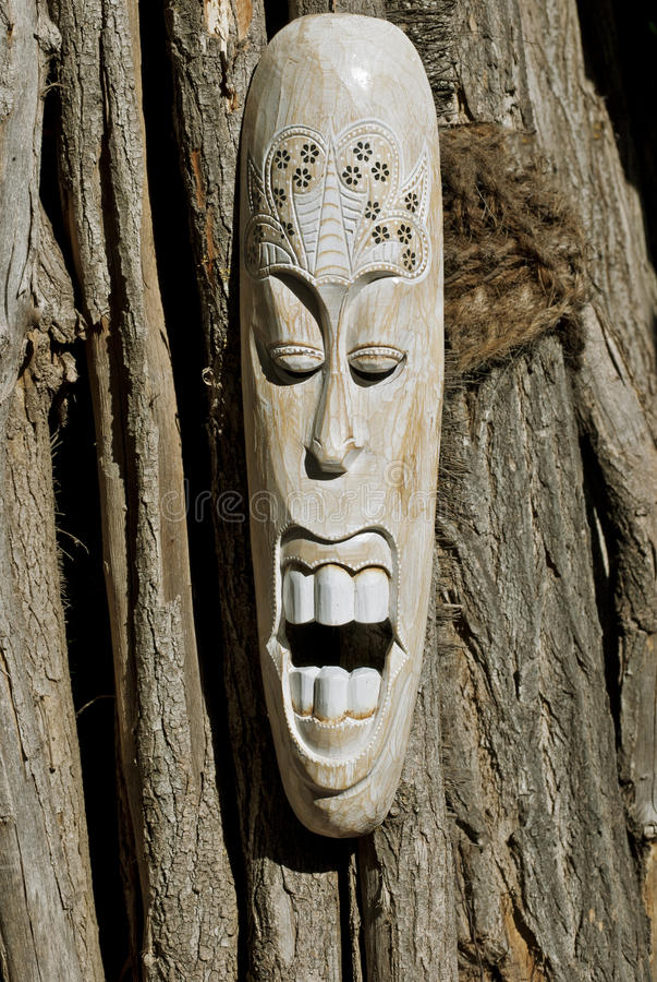 Download African Mask stock image. Image of historic, spiritual - 25490461